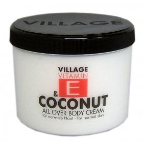 Village Vitamin E Bodycream Coconut