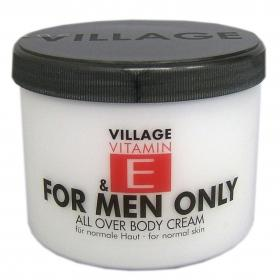 Village Vitamin E Bodycream For Men Only