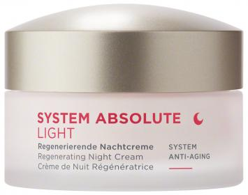 SYSTEM ABSOLUTE Regenerierende Nachtcreme light