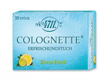 4711 Echt Kölnisch Wasser Colognette Erfrischungstücher