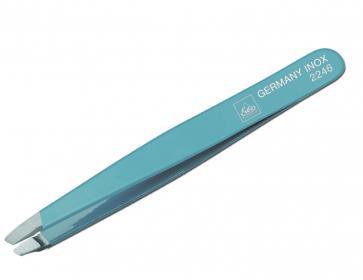 ERBE Pinzette schräg blau 9,5cm