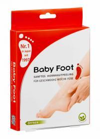 Baby Foot sanftes Hornhautpeeling