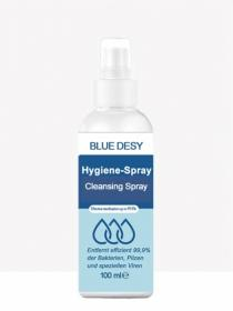 Blue Desy Desinfektionnspray Hygiene-Spray 100ml